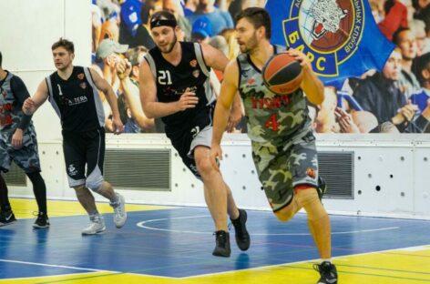 С трудом вырвали победу: сальский «Русич» продолжает борьбу в баскетбольной лиге
