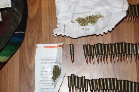 Житель Сальского района хранил у себя боеприпасы, порох и наркотики в крупном размере
