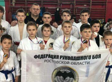 В жесткой конкуренции сальские рукопашники добыли медали в Ростове