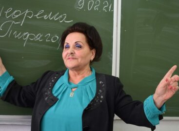 Больше полувека отдала работе в школе учитель из Екатериновки