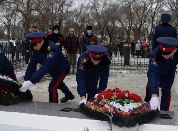 В Кручёной Балке почтили память погибших в Великой Отечественной войне