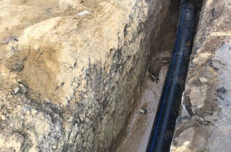 Замена участка канализационной сети в центре Сальска подходит к концу