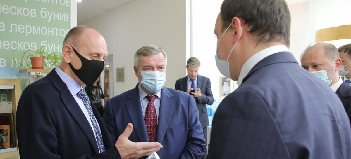 Василий Голубев: «Идеи комплексного развития Таганрога важно воплотить точно и качественно»