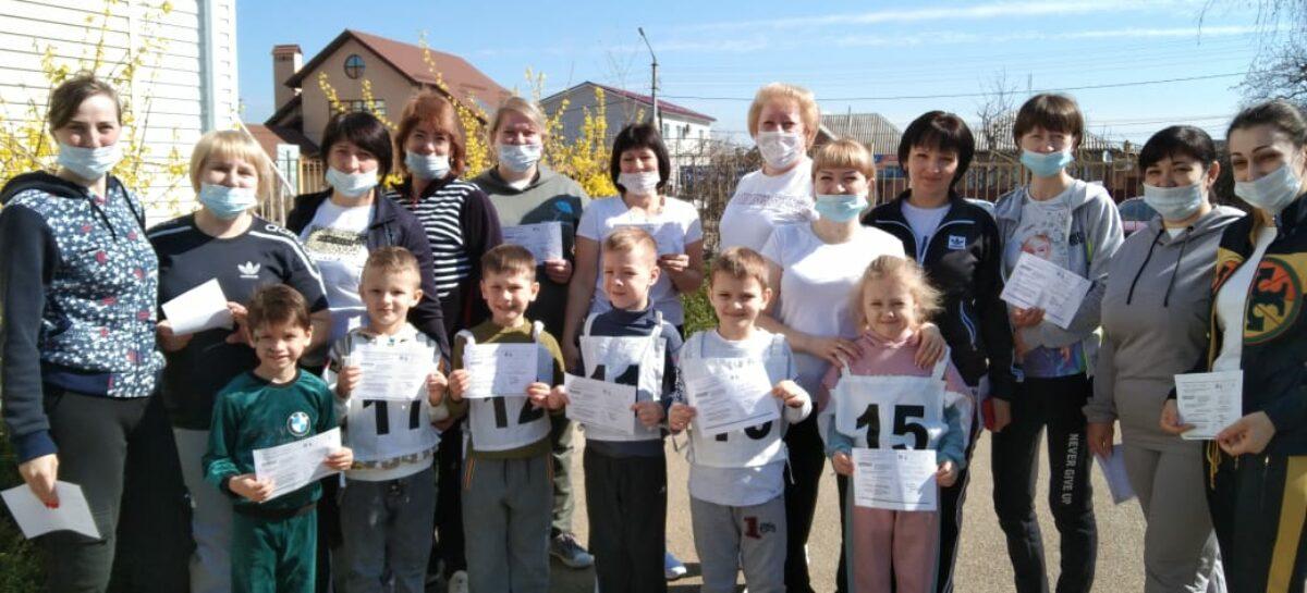 Нормы ГТО в детском саду «Голубок» в Сальске сдают и дети, и заведующая