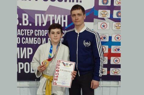 Сальский дзюдоист победил на областном первенстве