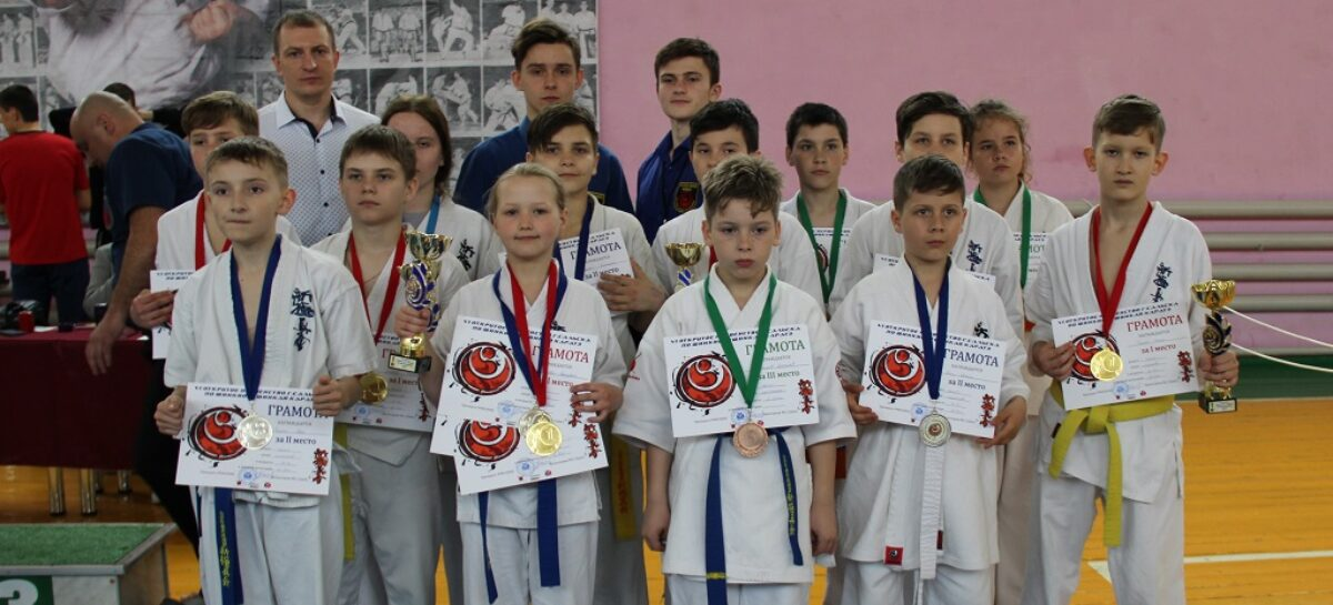Шестое первенство Сальска по каратэ киокусинкай собрало 130 спортсменов