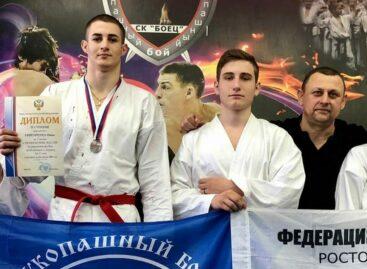 Сальские рукопашники завоевали две медали на первенстве России в Курске