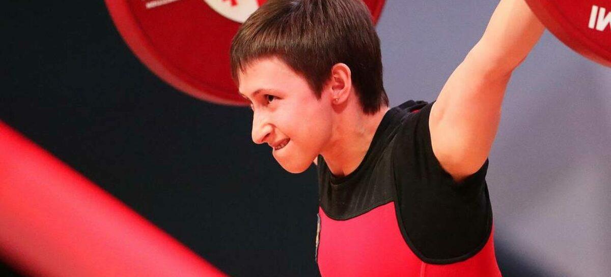 Кристина Соболь родом из Сальска завоевала «серебро» первенства Европы по тяжелой атлетике