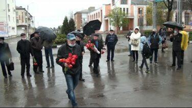 Сальчане отметили 35-ю годовщину со дня аварии на Чернобыльской АЭС.
