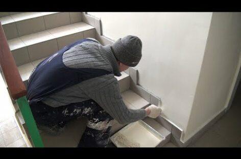 В многоэтажке по улице Кузнечной, 68, идёт косметический ремонт подъездов