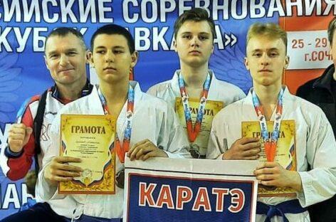 Сальские каратисты привезли награды с турнира «Кубок Кавказа»