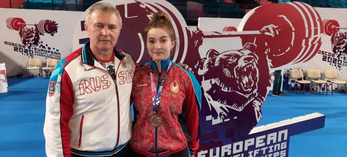 «Чудо на помосте»: тяжелоатлетка Дарья Рязанова и тренер Иван Чиж рассказали как была добыта  «бронза» чемпионата Европы