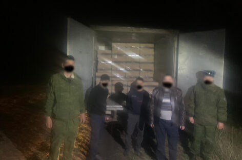 Через границу Ростовской области пытались провезти 30 тысяч пачек сигарет