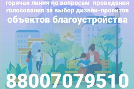 На Дону запущена «горячая линия» по проведению голосования за выбор дизайна объектов благоустройства