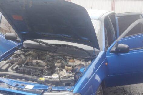 В Сальске в сгоревшей машине обнаружена мёртвая женщина
