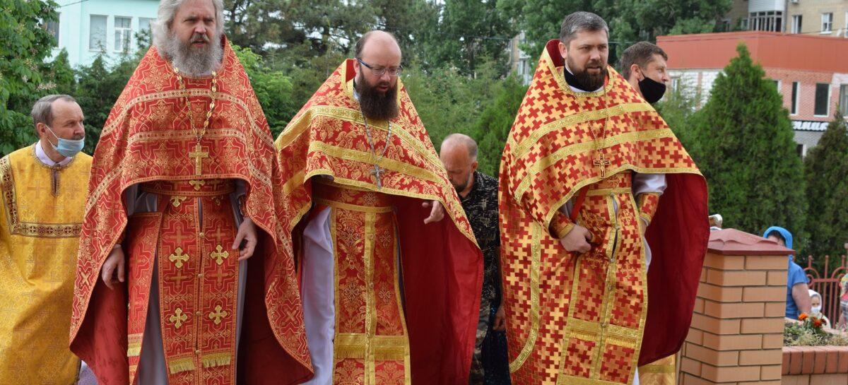 Приход собора во имя святых равноапостольных Кирилла и Мефодия отметил свой престольный праздник