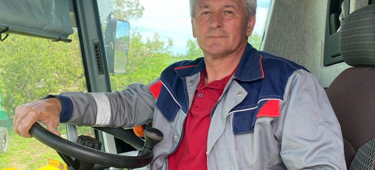 Высокой награды удостоен механизатор из хозяйства «Бараниковское»