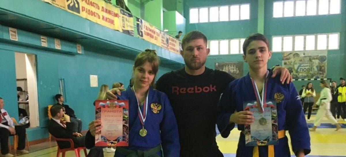 Сальские дзюдоисты успешно выступили в Донецке