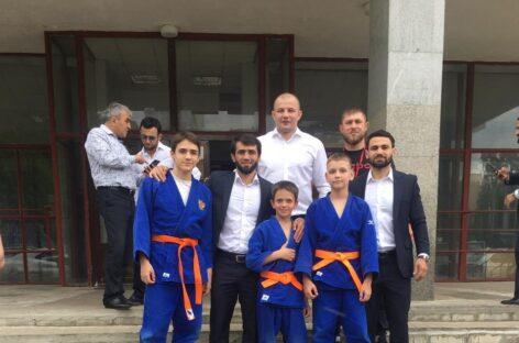 Сальские дзюдоисты набрались опыта в Подмосковье