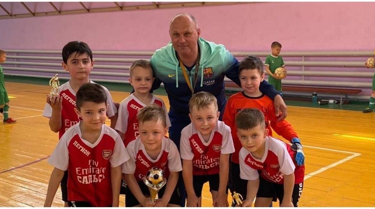 Турнир по мини-футболу прошёл в Приречном