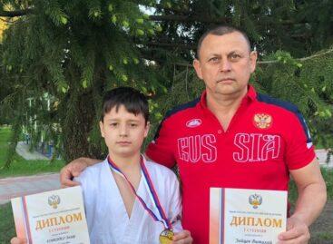 Захар Горенко из ДЮСШ Сальского района стал первым на первенстве страны