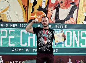 Сальчанин стал третьим на чемпионате Европы!