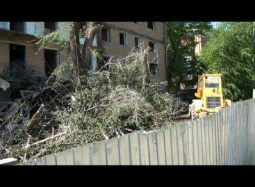 На месте аварийного дома в Сальске останется ровная площадка