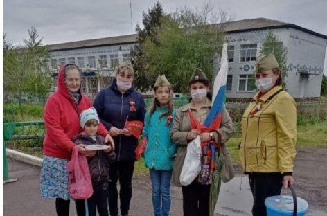 В поселке Белозерный прошла патриотическая акция «Солдатская каша»