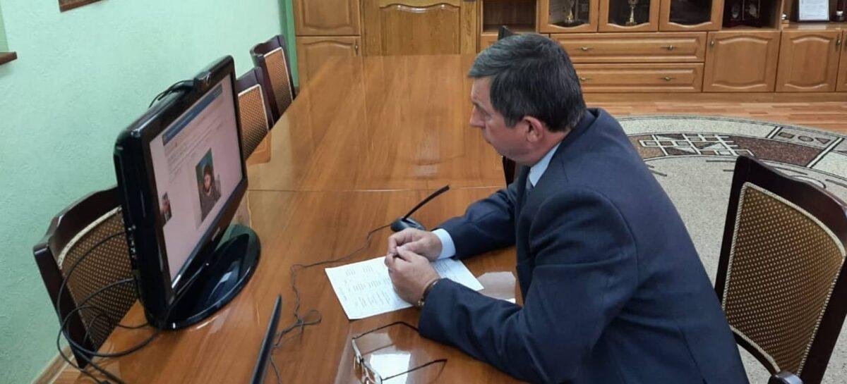 Глава администрации Сальского района Владимир Березовский провел  личный прием граждан