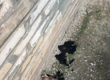 В Сальске в девятиэтажном доме случился пожар