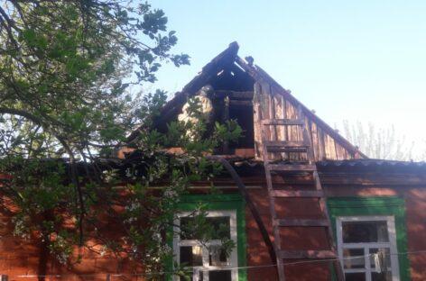 В Сальске ранним утром случился пожар