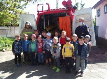 Спасатели Сальского поисково-спасательного отряда провели  экскурсию для дошкольников