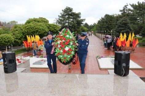 У Вечного огня в Сальске торжественно отметили День Победы