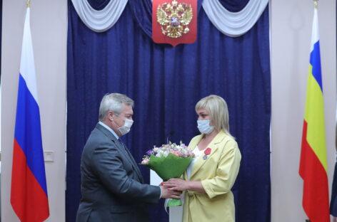Государственные и областные награды вручены жителям Дона
