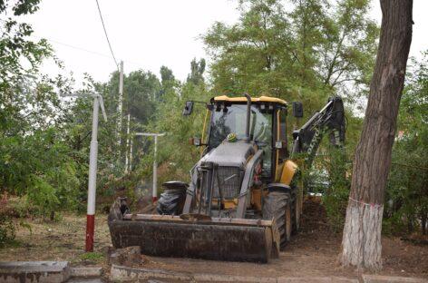 В военном городке в Сальске у нескольких домов появятся новые врезки  в коммунальную инфраструктуру