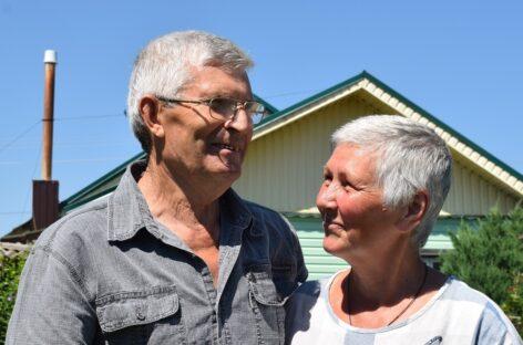 И в горе, и в радости: супруги Серые отмечают в этом году золотой юбилей любви