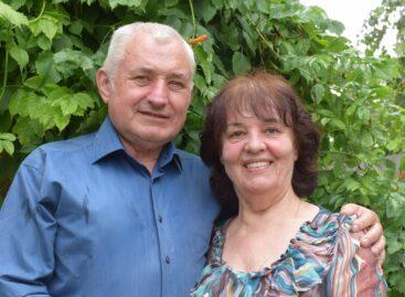 Подарок в год золотого юбилея: супругам Дегтяревым вручили медаль