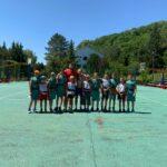 Сальские баскетболисты совмещают отдых и тренировки