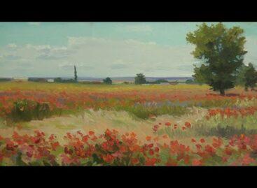 Степные маки Геннадия Колесниченко: вдохновляет художника природа родного края