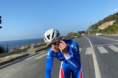 Сальский велогонщик завоевал бронзовую медаль чемпионата Европы