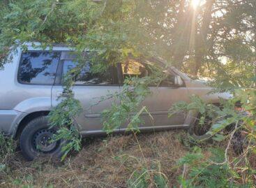 На подъезде к Сальску с дороги слетела иномарка