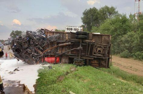 В страшной аварии под Сальском погибли шесть человек