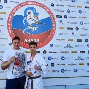 «Катана» выступила на XIII Всероссийских юношеских играх боевых искусств