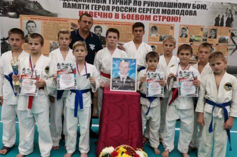 Юные рукопашники состязались в Волгодонске