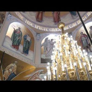 По библейским сюжетам: храм Святителя Димитрия Ростовского преображается на глазах