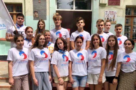 У юных волонтёров из посёлка Гигант Сальского района появился новый проект