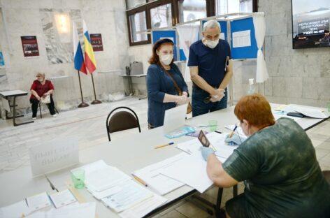Элла Памфилова сообщила о вбросах бюллетеней в 6 регионах страны  Ростовская область не вошла в их число