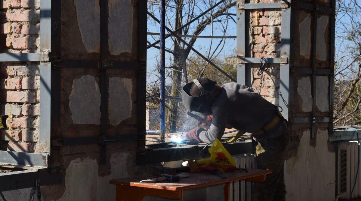 В Сальском индустриальном техникуме начался очередной этап ремонта