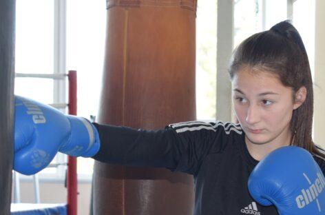 Сальчанка Альбина Лейба готовится к тренировочным сборам в Таганроге