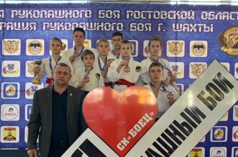 Воспитанники Виталия Зайцева собрали урожай медалей